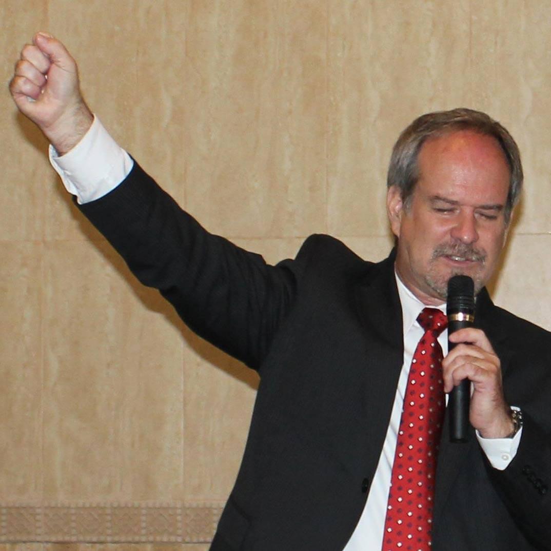 Barry Ogden preaching